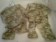 Baby Connection Camouflage Lot of Two 2 Piece Set 3-6 Months