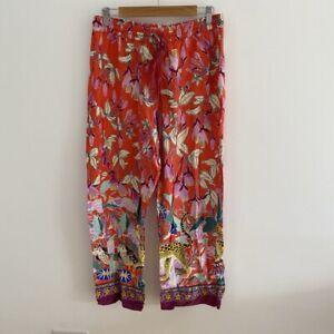 Anthropologie Lil Sire Cheetah Dreams Flannel Sleep Pants/PJ Bottoms. Medium