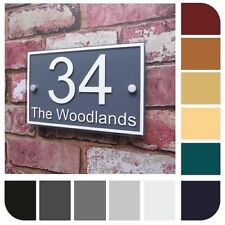 Streets Rectangle Modern Decorative Plaques & Signs