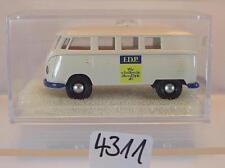 Brekina 1/87 Volkswagen Bulli VW T1b Bus F.D.P. OVP #4311
