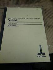 Okuma MULTI SIDE VMC CNC OSP SERIES_OSP7000M_ VH-40 Electrical Drawing Manual