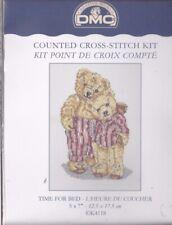 point de croix kit DMC oursons