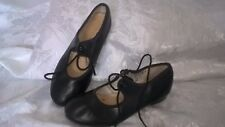 Leather TAP DANCE shoes size Child 12.5