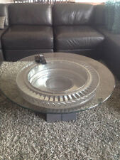One of a Kind Coffee Table Jet Fighter Engine Aviation Furniture Aviator