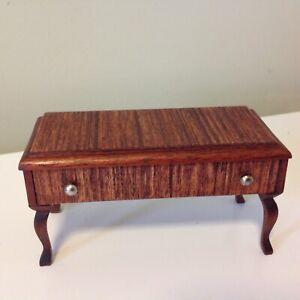 1/12 Scale Antique Dolls House Furniture Solid Timber Hardwood Veneer