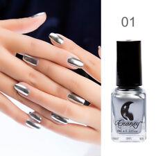 6ml Magie Spiegel Nagellack Lila Gold Silber Metallisch Chrom Nail Art Polieren