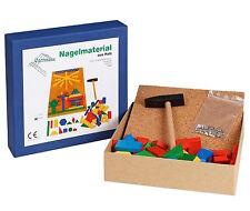 Nagelspiel Holznagelspiel Holzspielzeug Steckspiele von Egermann