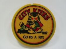 "City kites foam Frisbee vintage retro ""go fly a kite"""