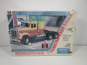ERTL 1/25 INTERNATIONAL TRANSTAR 4300 EAGLE SEMI TRUCK PLASTIC MODEL KIT *SEALED
