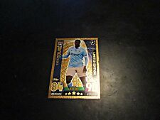 MATCH ATTAX - TOPPS - YAYA TOURE - LIMITED EDITION - GOLD CARD