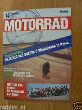 HAP-263 SUZUKI MOTORRAD SONDERDRUCK METZELER UND SUZUKI NARDO 6 WELTREKORD 1994