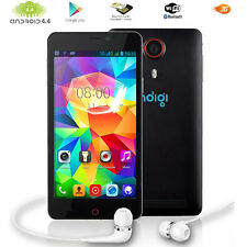 Stylish v13 Black 5.5in Multi-Touch 3G Android 4.4 (Unlocked) Mobile Smartphone