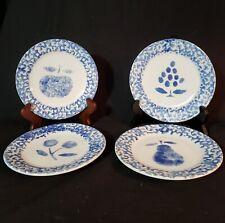 "Spongeware Plates 7"""