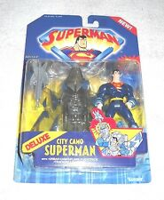 Superman (animated series) - City Camo Superman   - MOC 100% (DC) Kenner