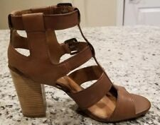 ALDO -  Brown Leather Strapy Sandals, Size 10