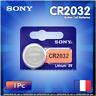 Pile SONY CR2032 Lithium PREMIUM 3V Longue Durée