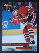 NHL 186 Jeremy Roenick Chicago Blackhawks Fleer Ultra 1993/94