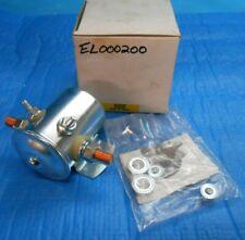 POWER PRODUCTS EL000200 SOLENOID 12V 4 TERMINALS CONTINUAL DUTY FLAT BRACKET