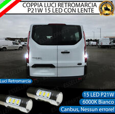 LED RETROMARCIA P21W  CANBUS FORD TRANSIT TOURNEO CUSTOM 6000K ULTRALUMINOSE