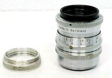 Sharp & fast Schneider Kreuznach 25mm f1.5 Xenon lens cine camera D Mount Bolex
