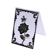 Rose Honey Plastic Embossing Folder Template DIY Scrapbooking Paper Cards Crafts