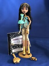 2008 Monster High Cleo De Nile 1st First Wave 1 Doll Complete Pet Hissette EUC