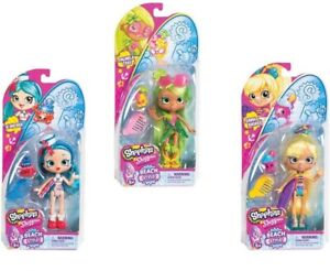 Shopkins Shoppies Beach Style Doll With Accessories - Girls Favourite Dolls