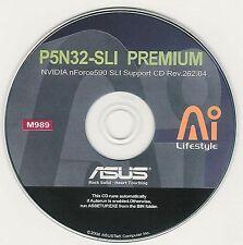 ASUS P5N32-SLi PREMIUM WiFi-AP Motherboard Drivers Installation Disk M989