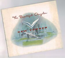 1951 Chrysler NEW YORKER Brochure / Pamphlet: NEWPORT,CLUB COUPE,CONVERTIBLE,