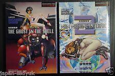 Japan Masamune Shirow manga: Ghost in the Shell (Bilingual Comics) vol.1+2 set
