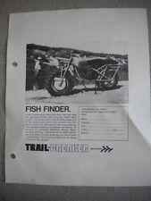 Trail Breaker Fish Finder Brochure Coupon