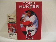 Angels Torii Tori Hunter Bobblehead with Ticket New SGA
