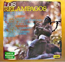 LOS RELAMPAGOS danza del fuego/recuerdos de la alhambra LP 1976 ZAFIRO RARE VG++