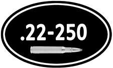 "22-250 Win Ammo Box Decal ** 2 PACK ** 5""x3"" Can Rifle Gun Vinyl Sticker DC932"