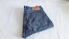 Levis Jeans 505  Blau Stonewashed W34 L32 grades Bein Straight-Cut