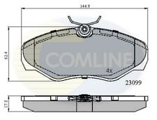 COMLINE Bremsbeläge vorne Set cbp01127 - BRANDNEU - Original - 5 Jahre Garantie