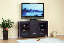 """11456 Modern 60"""" Entertainment TV Stand Sideboard Buffet Table Storage Cabinet"""