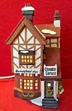 Bumpstead Nye Cloaks & Canes Dept 56 Dickens Village 58084 Christmas shop city A