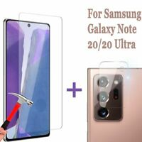 For Samsung Galaxy Note 20/20 Ultra 5G Camera Lens/Tempered Screen Protector