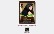 Henna Hair Dye Quick Color ammonia  free ( natural black) 10 gm X4 free shipping