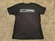 STIHL Genuine Black Tee Size Med New In Tube Promotional Shirt