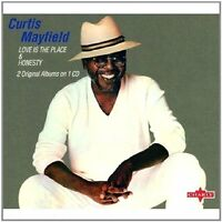 Curtis Mayfield - Love Is the Place & Honesty (2007)  CD  NEW/SEALED  SPEEDYPOST