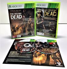 MICROSOFT XBOX 360 GAMES | TELLTALE THE WALKING DEAD SEASON 1 & 2 | COMPLETE PAL