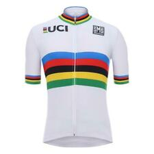 Uci World Champion Replica Short Sleeve Jersey by Santini