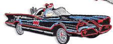Batman - Batmobil Logo - Patch Aufnäher - zum Aufbügeln - neu
