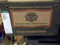 New OEM Harley Davidson 59005-98 Front Fender Skirt
