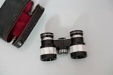 Antique Opera Glasses by Gold Crest Japan 3X Magnification With Leather Case