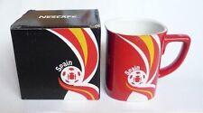 "NESCAFE COFFEE Red FIFA Brazil Mug SPAIN World Cup 2014 Nestle 3.5"" Malaysia Box"