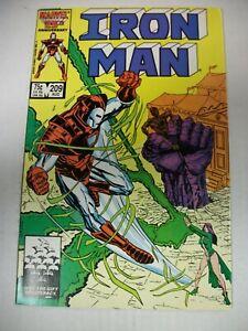 Marvel IRON MAN #209 (1986) Werewolf by Night, Morgan Le Fey, Dwayne Turner