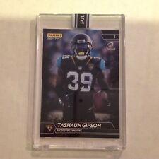 Tashaun Gipson #351 Jaguars Wyoming MVP 1/1 Made 2017 Panini Instant Black NFL
